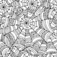 vector abstract halloween spider web seamless pattern stock photo