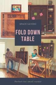 best 25 fold down table ideas on pinterest fold down desk fold