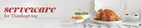 thanksgiving serveware serving platters dishes pie servers