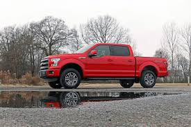 ford f150 rims 17 inch 2in leveling lift kit w n2 0 shocks for 2015 2018 ford f 150