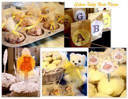 Bear Themed Baby Shower Cakes Teddy Bear Theme Baby Shower Boy Baby Shower Thank You Tags Blue