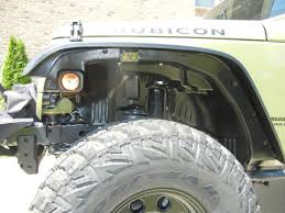 rugged ridge wrangler a t flat fender flare kit w liners