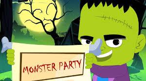 Monster Halloween Party Monster Party Original Song Nursery Rhymes Kids Songs