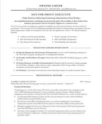 Job Responsibilities Resume by 18 Best Non Profit Resume Samples Images On Pinterest Free