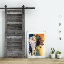 fabriquer porte de grange porte de grange coulissante grise sliding door barn wood bijoux