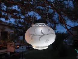 Solar Garden Tree Lights by Sensational Recycled Solar Lights In The Garden Flea Market