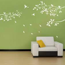 popular white branch decal buy cheap white branch decal lots from fashion white tree branches birds leaves home wall stickers living room decals china mainland