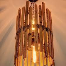 Chandelier With Edison Bulbs Buy Hand Made Rainbow Poplar Chandelier With Edison Bulbs Made To