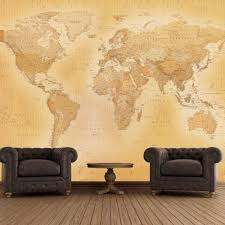 1 wall giant wallpaper mural old map of the world 3 15m x 2 32m 1 wall vintage old map giant wallpaper mural vintage 003
