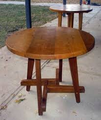 how to make a round table round patio table step by step instructions patio table plans