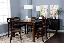 Black Dining Room Table And Chairs by Rocco 9 Piece Extension Counter Set Living Spaces