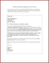 12 sample of scholarship letter sendletters info