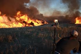 Wildfire Equipment Operators by Restoring Prairie And Fighting Wildfire With Drone Launched Fire