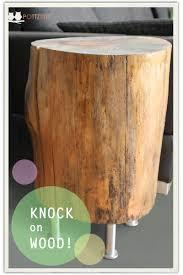 Wohnzimmertisch Holzstamm Mein Freund Der Baumstumpf Beistelltisch Handmade Kultur