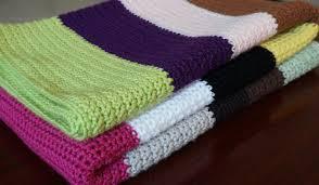 Green Throw Rug Single Crochet Blanket Youtube