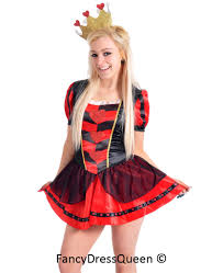ladies queen of hearts fancy dress from orfd