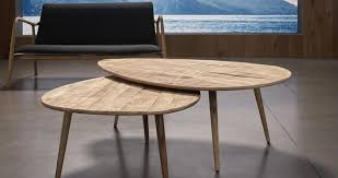 Wood Oval Coffee Table - coffee tables nick scali furniture