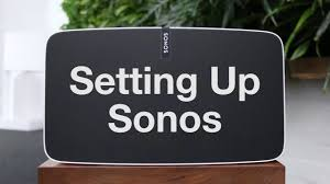 setting up sonos youtube