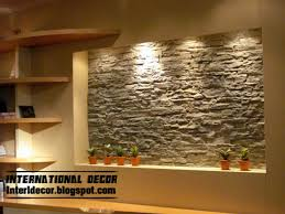 interior decoration interior stone wall tiles design ideas modern