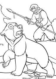 brother bear koda u0027s loving mother coloring pages batch coloring
