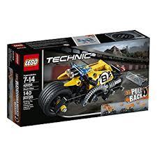 lego technic amazon com lego technic stunt bike 42058 advanced vehicle set