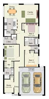 Narrow House Plans With Porches Hotondo Homes U0027 Annadale 169 Is A Compact Design Suitable For