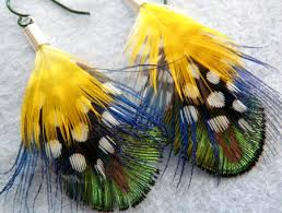 feather earrings nz things to make and for facinators