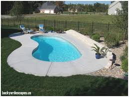 inground pool designs for small backyards new inground pool
