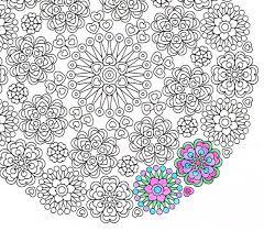 mandala coloring lace love printable coloring