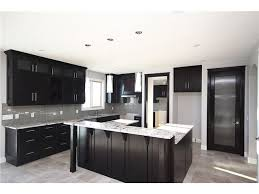 Black Kitchen Cabinets With Grey Walls Google Search New House