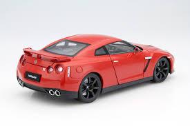 red nissan 2008 nissan gt r r35 2008 red die cast model norev 188051