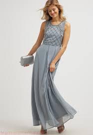 maxi kjoler 2017 real damer field maxikjoler silver blue an621ca7a k11