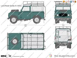 1975 land rover the blueprints com vector drawing land rover series iii