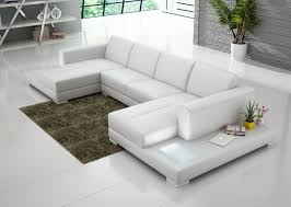 white chaise lounge sofa immaculate white leather double chaise sectional sofa with tables