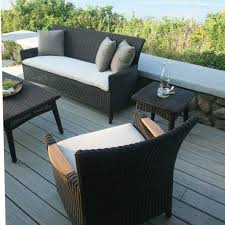 kingsley bate coffee table furniture amazing backyard living space with black woven sofa bench