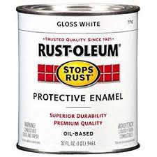 rust oleum 1993502 painters touch latex 1 quart semi white