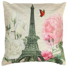 Home Decorating Accessories Wholesale by Wholesale 18 X 18 Inch Decorative Eiffel Tower U0026 Flowers Print
