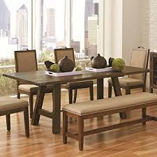 Acacia Table Amazon Com Coaster 105681 Home Furnishings Dining Table