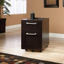 sauder 2 drawer file cabinet amazon com sauder 415147 jamocha wood finish town file cart