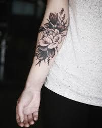 25 best inner forearm flower designs images on