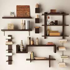 Wooden Bookshelf Apartment Bedroom Furniture Appealing Brown Wooden Bookshelf Wall