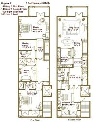 master bathroom duplex townhouse floor plans google search