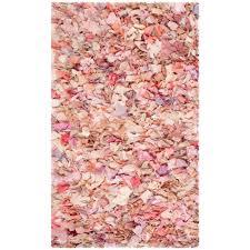 6 X 4 Area Rug Safavieh Shag Ivory Pink 4 Ft X 6 Ft Area Rug Sg951p 4 The