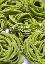 cara membuat mie yang kenyal 67 resep mie hijau sawi kenyal enak dan sederhana cookpad