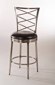 agreeable furniture iron bar stool design with stainless steel