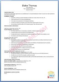 Child Care Resume Examples by Pediatrician Resume Sample Baileybread Us