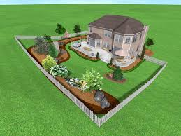 easy landscaping ideas for backyard house landscape likable front