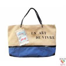 sac en toile personnalisable sac cabas en toile de jute et coton avec inscription love sac