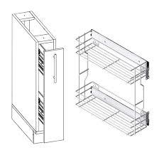 unterschrank küche unterschrank küchenschrank zur küche 15cm mit soft funktion