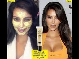 yellow primer kim kardashian inspire yellow primer youtube